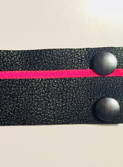 Schwarzes Armband von KIK/ANN